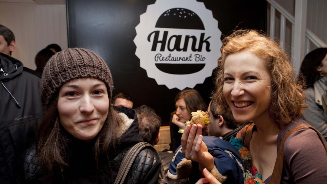 Hank restaurant vegan à Paris.